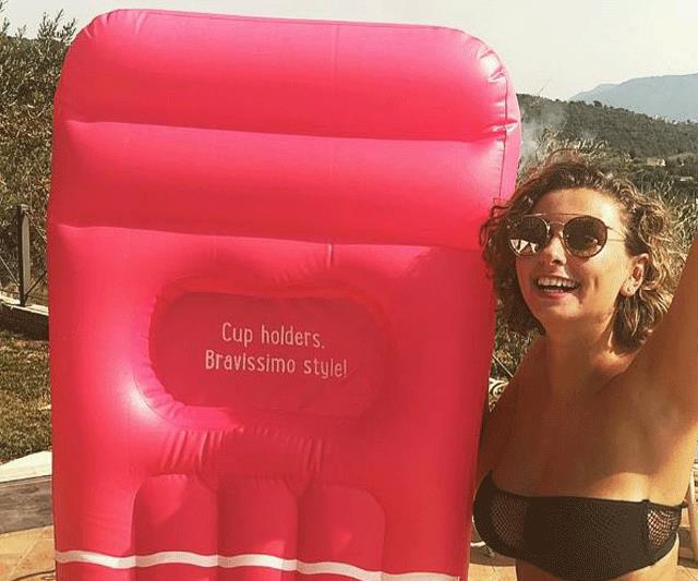 Seriously, you can now buy a pool lounge designed specifically for bigger-busted women