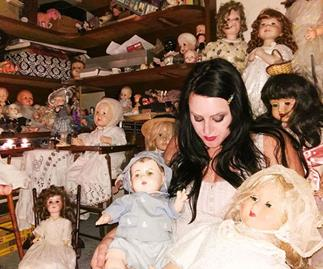 Real life: I live with 800 haunted dolls