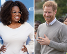 Royal dream team! Prince Harry and Oprah join forces for a very special project