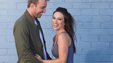 EXCLUSIVE: The Block's Jesse and Mel's twin baby joy