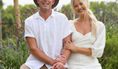 My Kitchen Rules' Ash Kelliah and Stacey Allen tie the knot in gorgeous Byron Bay ceremony