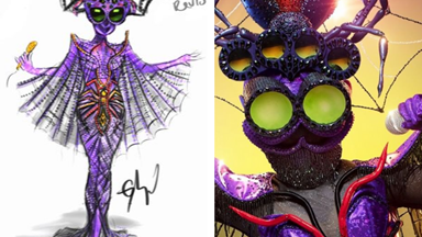 EXCLUSIVE SKETCHES: The Masked Singer costumes were designed BEFORE the show was cast