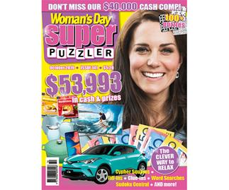 Woman's Day Superpuzzler Issue 141 Online Entry
