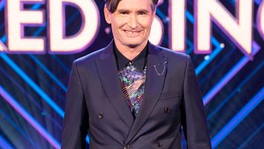 Dave Hughes had a problem with his fellow panellists on The Masked Singer