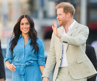 Prince Harry and Duchess Meghan Markle talk about Archie's first day in South Africa