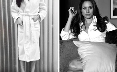 Meghan Markle's former co-star releases never-before-seen photos of the Duchess