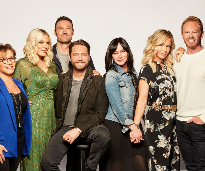 The Beverly Hills, 90210 reboot is funny, nostalgic and entertaining – with a whopper of a twist
