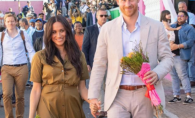 Inside Prince Harry and Duchess Meghan's jam-packed second day of their South Africa royal tour