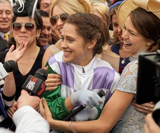 "Why Michelle Payne was ""hesitant"" to sign on to Ride Like A Girl"