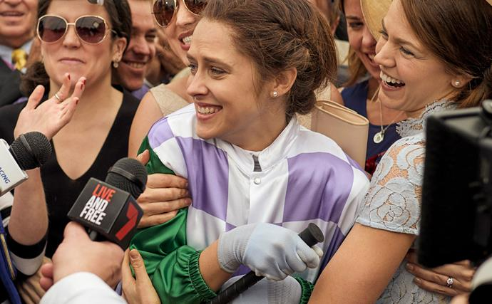 """Why Michelle Payne was """"hesitant"""" to sign on to Ride Like A Girl"""
