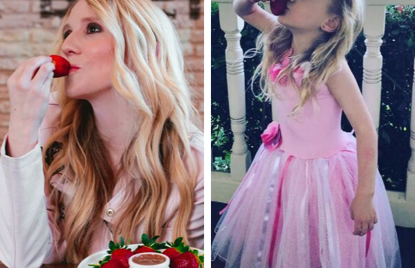 EXCLUSIVE: Nikki Webster's daughter dances to Strawberry Kisses and our hearts can't take it