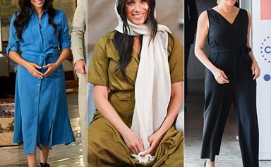 Duchess Meghan's most stunning fashion moments on her royal tour of Africa