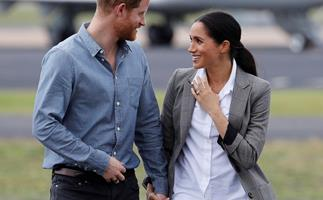 Prince Harry and Duchess Meghan's most adorable PDA moments