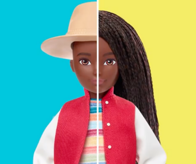 """Mattel releases a new line of gender-neutral dolls which it says is """"free of labels"""""""