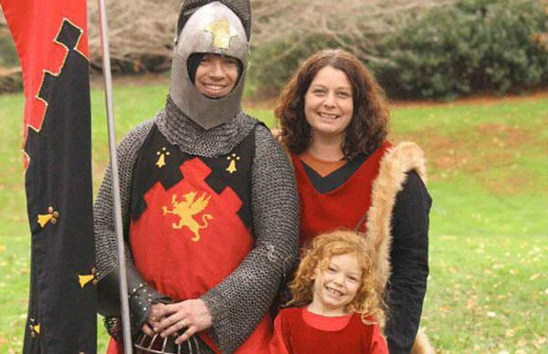 Lisa's fairytale: My hubby is a knight in shining armour