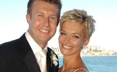 Inside Jessica Rowe and Peter Overton's gorgeous love story