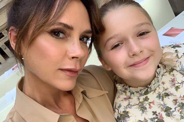 Expelliarmus! Harper Seven is the ultimate Harry Potter fan in Victoria Beckham's latest photo