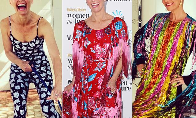 All the colours! Jessica Rowe's greatest fashion moments are a sight to behold