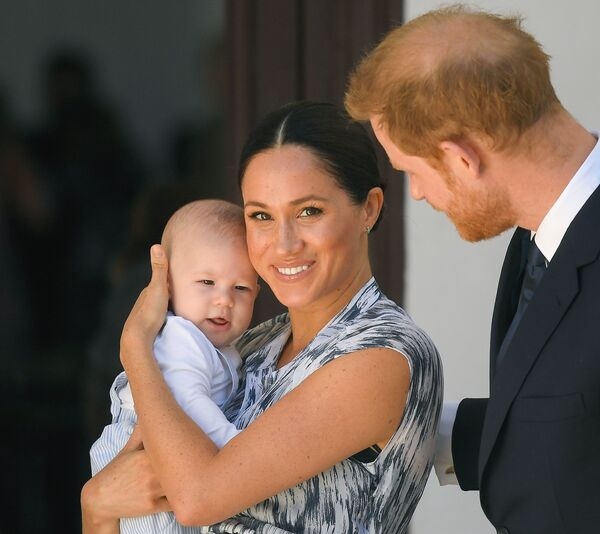 Duchess Meghan Markle was gifted the most adorable pair of dungarees for Archie during unannounced engagement
