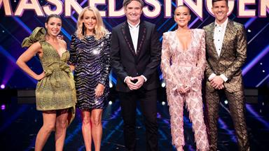 The Masked Singer: Dave Hughes only signed up because of the judging panel