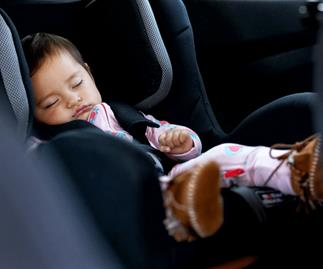 Parents are driving 1,500km a year to get their baby to sleep