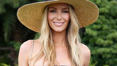 Jennifer Hawkins shows off her gorgeous baby bump in candid new photos