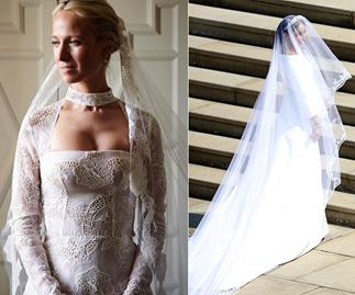 Why Misha Nonoo's wedding dress would never be approved for a royal wedding