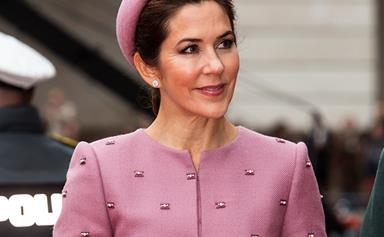 Pretty in pink! Crown Princess Mary channels Jackie Kennedy in her latest ensemble