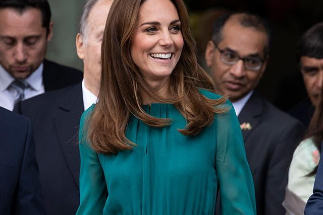 Duchess Catherine reveals Princess Charlotte is a fan of spicy food during her visit to The Aga Khan Centre