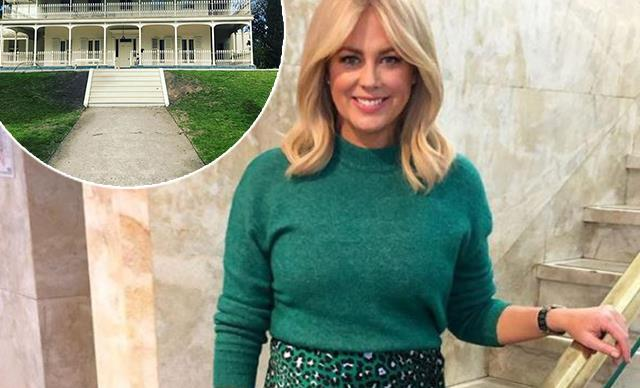 Samantha Armytage finds her dream wedding venue