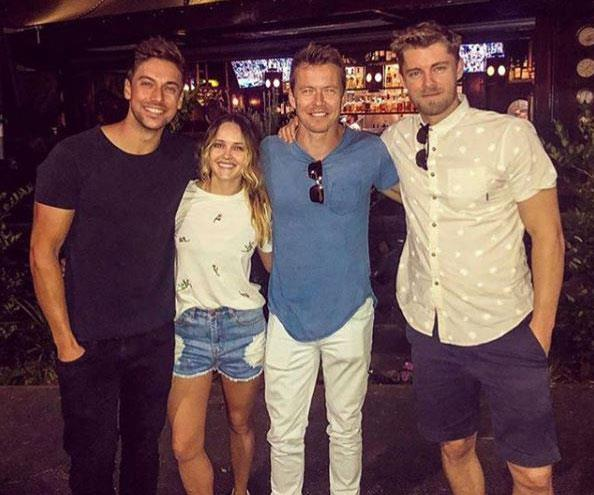 Home and Away's Luke Mitchell and Todd Lasance reunite for new project