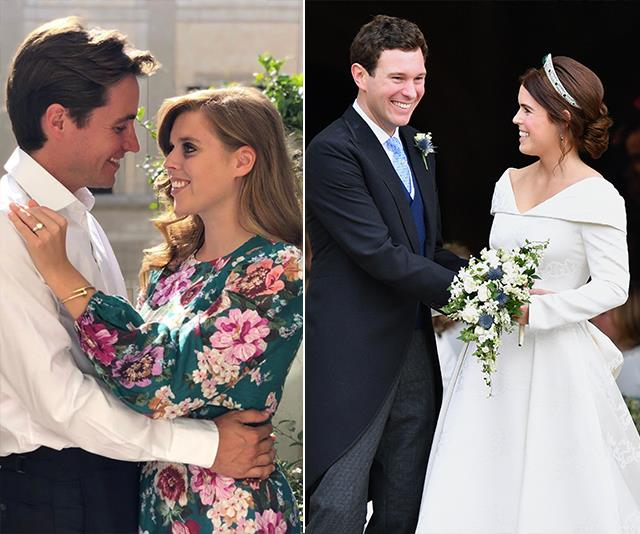 Princess Beatrice (left) and her sister Eugenie (right) are very different people, according to sources.
