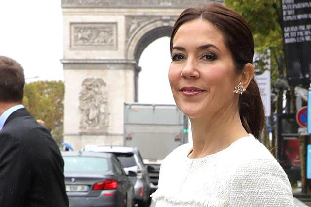 Crown Princess Mary wears two new knockout dresses in Paris, and we're taking inspiration immediately