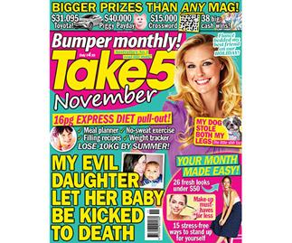 Take 5 Bumper Monthly November Issue Online Entry