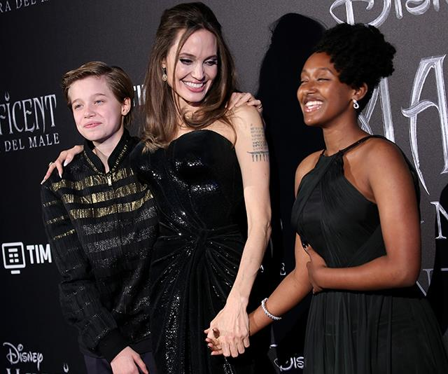 Angelina Jolie's daughter Zahara is all grown up with her own jewellery collection