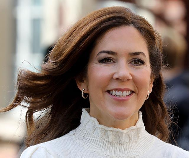 Crown Princess Mary rocks one of the world's most iconic fashion items as she wraps up her Paris tour