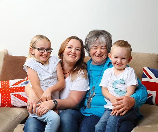 Real life: We adopted 16 surrogate grannies