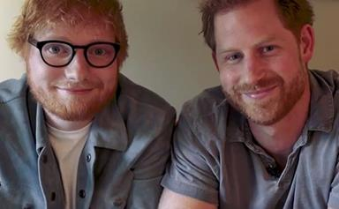 Prince Harry and Ed Sheeran release comedic video for World Mental Health Day - and there's a ginger twist!