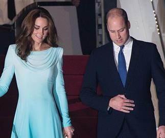 Duchess Catherine wears a breathtaking traditional dress as she & Prince William touch down in Pakistan
