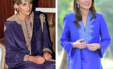 Duchess Catherine's beautiful tribute to Princess Diana on day two of the Cambridge royal tour of Pakistan
