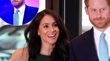 Prince Harry breaks down in tears as gorgeous Meghan looks on at WellChild Awards