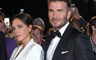 """Victoria Beckham says it was """"love at first sight"""" for her and husband David Beckham"""