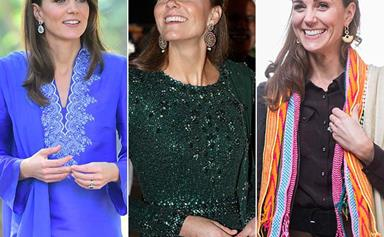 Duchess Catherine's most heavenly fashion moments from her royal tour of Pakistan