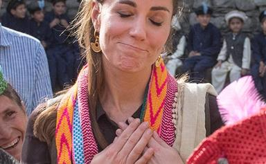 New picture shows the very special accessory Duchess Catherine brought with her to Pakistan