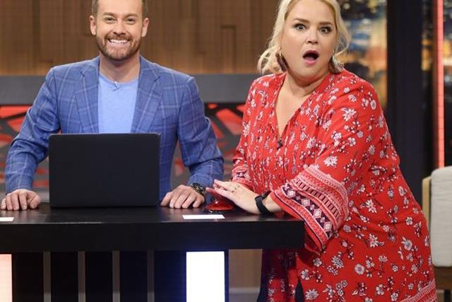 """EXCLUSIVE: Why Yvie Jones can't wait to """"get loose"""" with Grant Denyer in new gig"""