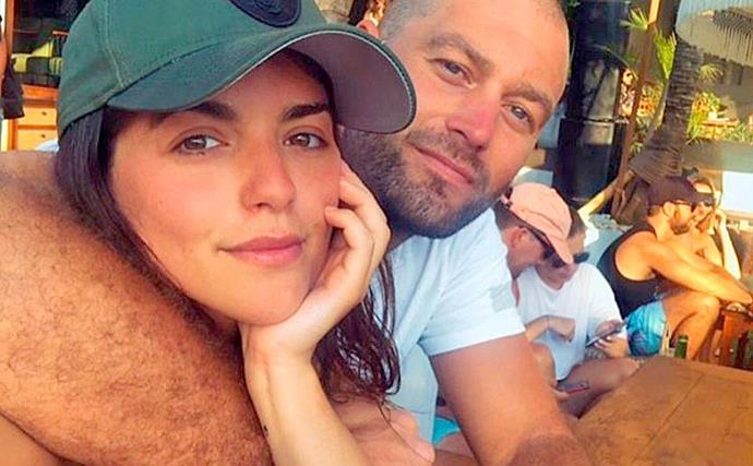 Neighbours actress Olympia Valance announces her engagement to AFL star Thomas Bellchambers