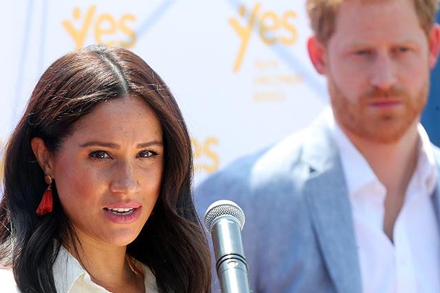 Duchess Meghan and Prince Harry are stepping back from royal duties as revealing new documentary airs in the UK