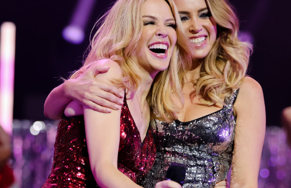 Kylie Minogue's throwback birthday tribute to younger sister Dannii is just perfection