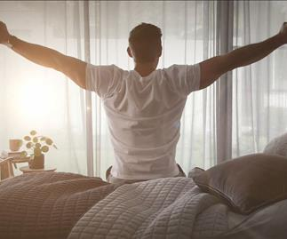 Tim Robards' 5 tips for getting a good night's sleep