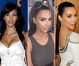 Kim Kardashian's jaw-dropping beauty transformation through the years